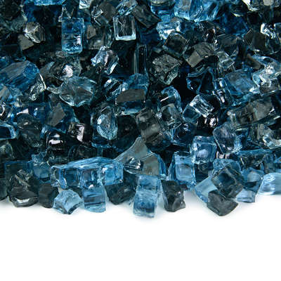 Kenai Blue Original Fire Glass Blend