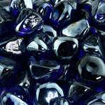 Deep sea blue diamonds closeup