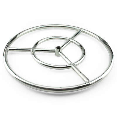 Stainless Steel Round Fire Pit Burner Ring