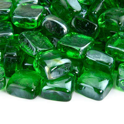 Pine Mountain Fire Glass Cubes