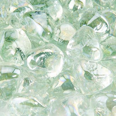 Arctic Ice Fire Glass Diamonds