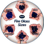 3ca2b022a41fafbe666f3d0608710b41370215e7 fire glass sizes