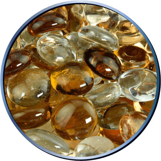 Fire Glass Bead Blends